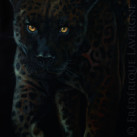 MELANISTIC_VII_oil_on_canvas_40x80