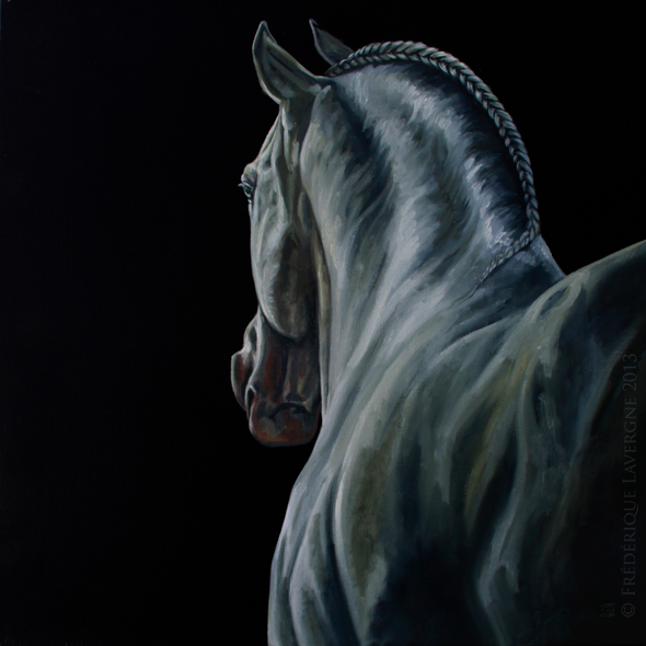 NEPTUNO III oil on canvas 50x50 2012